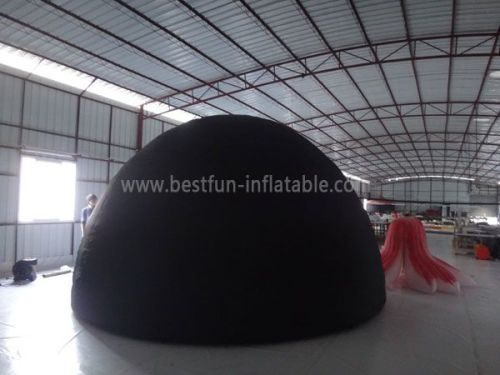 Single Layer Inflatable Planetarium Dome With Entrance