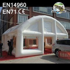 White Wedding Tent Inflatable With Windows And Door