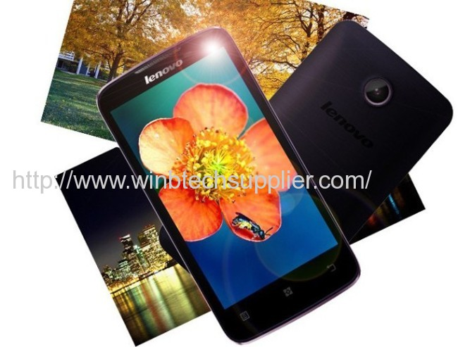 Original Support Russian lenovo A820 MTK6589 Quad Core Phone RAM 1GB ROM 4GB Android 4.1black / White phone