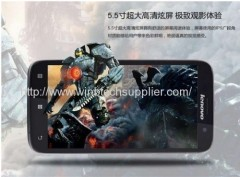 Support Multi -language Lenovo A850 phone MT6582 Quad Core Phone IPS 5.5 inch Android 4.2 1GB 4GB GPS 3G Smart Phone