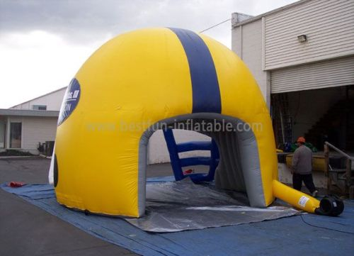Inflatable Helmet Tent For Sports