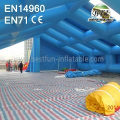 Giant Inflatable Exhibition Constructure Tube Tent