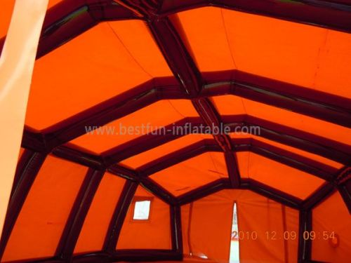 Orange Camping Inflatable Air Tent