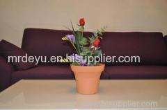 Wood Grain Flower Pots