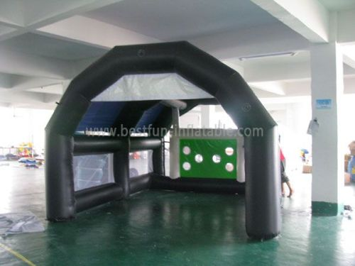 Black Inflatable Arch Tube Tent