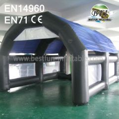 Inflatable Arch Paintball Tent
