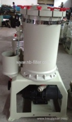 2013 PVC Chrome Acid Electroplating Filter