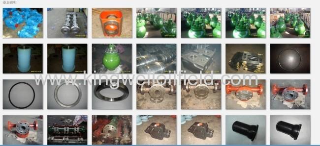 API Mud Pump Pulsation Dampener