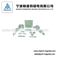 Permanent Neodymium Arc Magnets for Motors