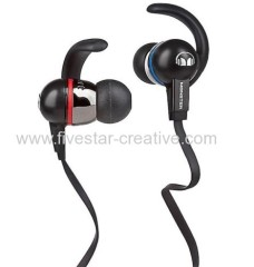 Monster iSport Immersion Noise Isolating Earphones with ControlTalk Black
