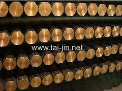 industrial use titanium clad copper round square bar