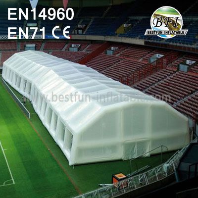 White Giant Inflatable Sports Dome Tent