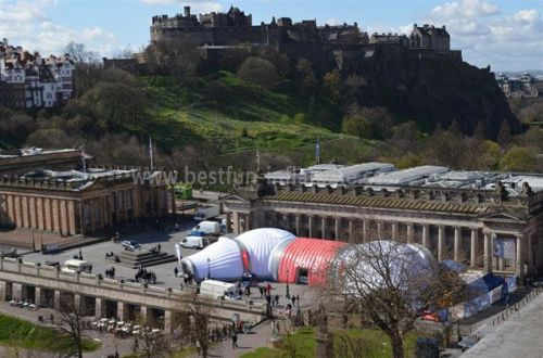 Big Inflatable Structure Combination