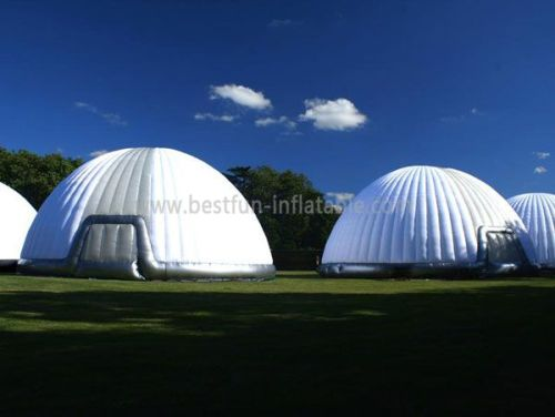 Inflatable White Dome Tent For Exhibition
