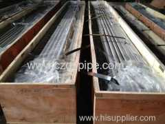 Stainless steel pipe stock