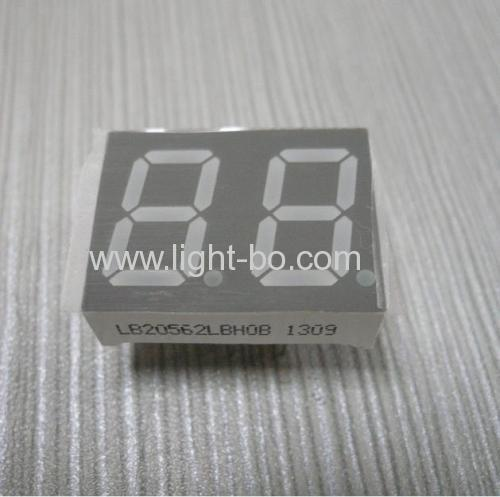 Ultra Blue Common Cathode Dual-Digit 0.567-Segment LED Display