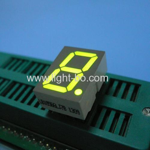 Super green Single-Digit 0.56-inch 7 Segment LED Display - 12.5 x 17.4 x 8 mm
