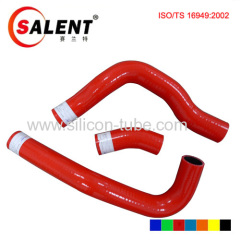Red color Nissan SILVIA 180SX PS13 RPS13 CA18DET Silicone Hose Kit Fits Nissan 3pcs