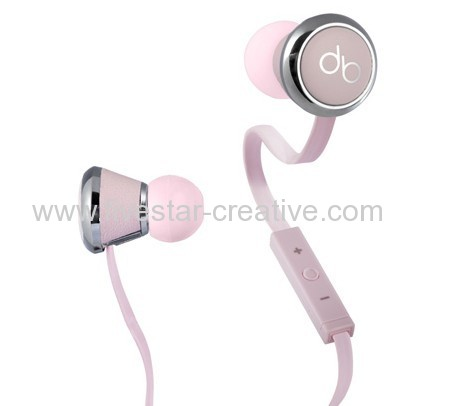 Diddybeats High Performance In-Ear Headphones with ControlTalk Power Pink