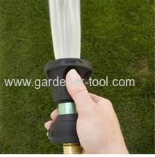 2-Way zinc hose nozzle as fire nozzle to irrigate garden