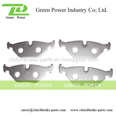 Good planeness and lightness brake pad