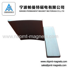 magnetic tile for high performance motor