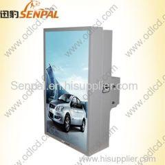 digital advertising singel screen Sunlight outdoor lcd stand