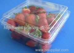 Heat transfer printing PET fruit packing box