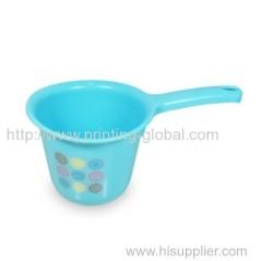 Hot stamping plastic water bailer