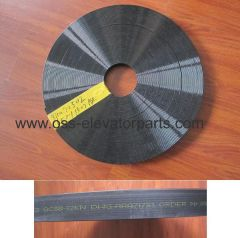 Otis traction belt 30mm straight groves (width 3mm) Gen2