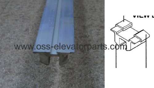 Otis 506 NCE and Sigma aluminum balustrade upper guide rail (2 METER) all profiles from ..K1 to ..K64