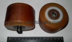 Tension roller for handrail Otis 506NCE (2 bearings 6201DU)