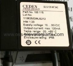 OTIS CEDES SENSOR GLS126NT.NC Normally Closed
