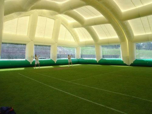 Giant Commercial White Outdoor Inflatable Tennis Tents