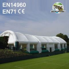 Long Inflatable Tennis Sports Tents High Quality
