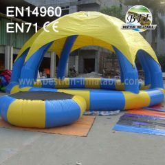 Inflatable Arch Tent For Pool