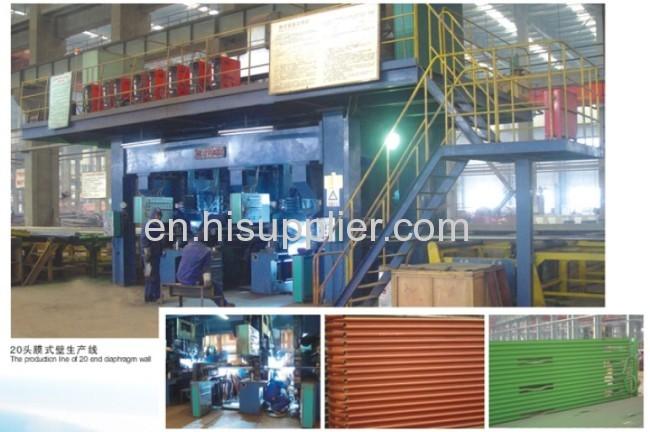 Membrane Water-cooling Wall of Boiler