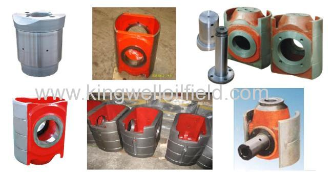 Mud pump crosshead for oil well drilling