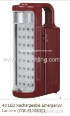 Rechargeable Emergency fluorescent Lantern with 11W U-TUBE