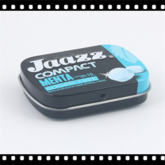 Square Shape Mints Tin Box