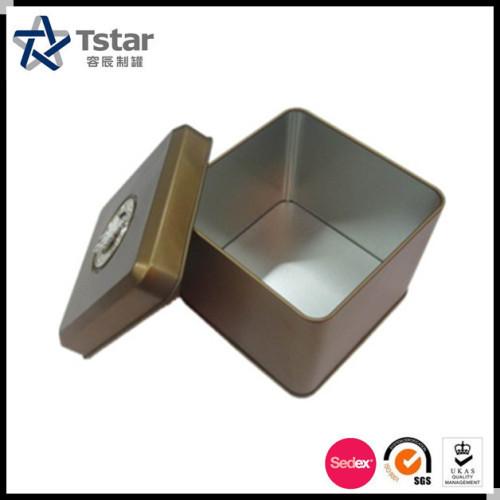 Metal Packing Jewelry Tin Box