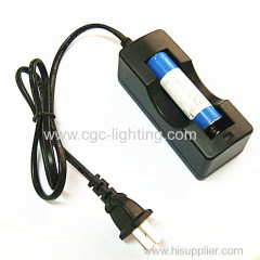 LED aluminum flash torch battery charger