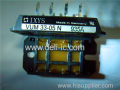 VUM33-05N - Power MOSFET Stage for Boost Converters - IXYS Corporation