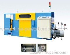 High speed wireline-intertwist machine