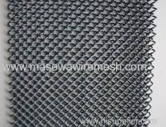 Decorative material metal drapery