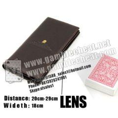 Lente lunga portafoglio XF. | Obiettivo a infrarossi Lettore di carte | carte contrassegnate | scommesse cheat | dispositivi di trucco del poker