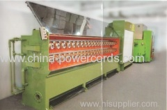 Multiwire drawing machine of 16 wires