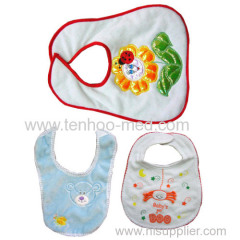 Clothing protection baby bibs