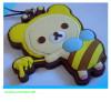custom soft PVC keychain for promotion