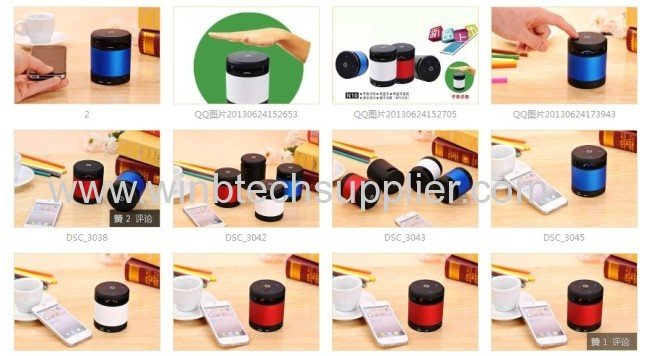 2013 new beatboxMini Bluetooth Speaker Bluetooth 4.0 HiFi Beatbox with MIC For iPhone 5 MP4 MP3 Tablet PC